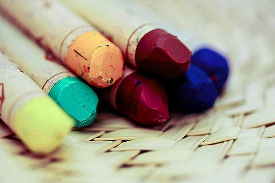 , Comment nettoyer des traces de crayons pastel