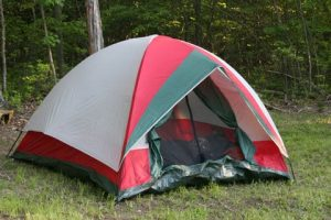 nettoyer une tente
