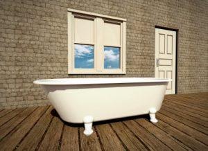 Comment nettoyer une baignoire en fonte