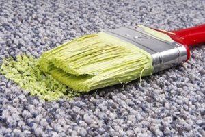 Comment enlever de la peinture sur un tapis