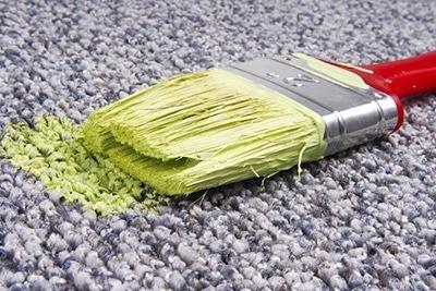 Comment enlever de la peinture sur un tapis comment nettoyer - Comment nettoyer un tapis en coco ...