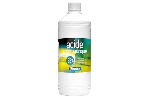 Comment nettoyer avec de l'acide chlorhydrique